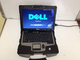 Dell Semi Rugged Dell Xfr D630 Rugged Military Laptop Touchscreen 2 0ghz Core 2 Duo