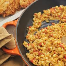 cajun cuisine kicked up corn maque choux emerils com