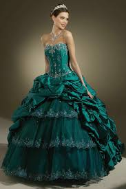 green quinceanera dresses draping ruched appliques flower strapless green