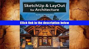 pdf sketchup layout for architecture the step by step workflow