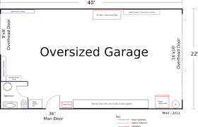 garage floor plan block garage plans plan of a large detached garage pondering