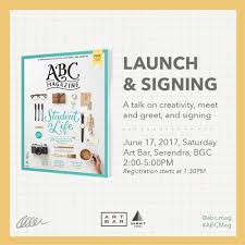 abbey sy see you at the abc magazine launch