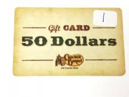 cracker barrel gift card 50 gift cards from local department in indianapolis
