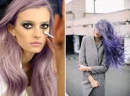 periwinkle hair style image purple reign