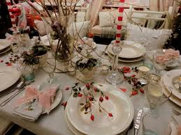Christmas Table Decoration Ideas For Parties christmas party table setting ohio trm furniture