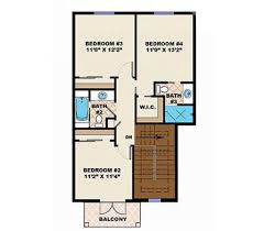 southwest floor plans adobe southwestern style house plan 4 beds 3 50 baths 2548 sq