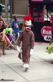 Monkey Halloween Costumes Sock Monkey Diy Halloween Costume