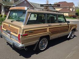 jeep wagoneer 1989 1990 jeep wagoneer information and photos zombiedrive