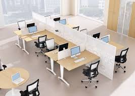 Atwork Office Furniture by Workstation Desk Aluminum Contemporary Commercial Idea