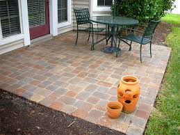 great easy paver patio ideas lowes paver patio brick paver