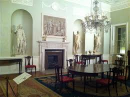 Art For The Dining Room by A Peek Inside The Dining Room Of Historic Lansdowne House The