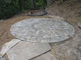 Paver Patio Kits Circle Paver Patio Kits Saclongchpascher