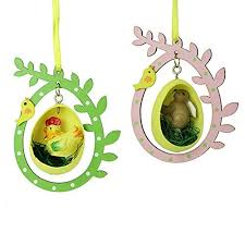 Easter Decorations Amazon by Wooden Easter Decorations Amazon Co Uk