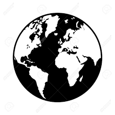 Free Vector World Map by World Globe Map Flat Icon For Apps And Websites Royalty Free