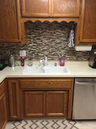 vinyl kitchen backsplash best 25 vinyl tile backsplash ideas on flooring ideas