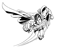 superman coloring pages 1 clipart panda free clipart images