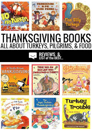 thanksgiving books for about pilgrims turkeys and food