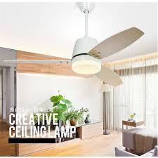 bedroom fans with lights simple nordic ceiling fan modern fan light living room dining room