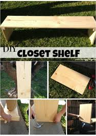 how to make diy freestanding shelves