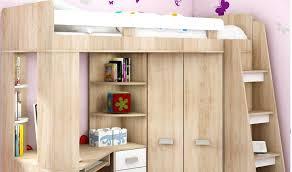 lit bureau enfant bureau dans une armoire lit mezzanine avec bureau et armoire