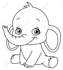 cartoon drawing of elephant how to draw simple cartoon elephant