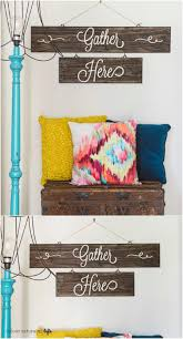 Rustic Charm Home Decor 50 Wood Signs That Will Add Rustic Charm To Your Home Decor Diy