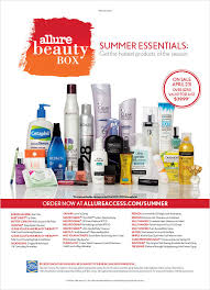 allure best leave in conditioner allure summer beauty box 2013 the complete product list my