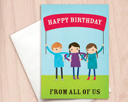 from all of us card etsy