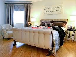 Modern Bedroom Furniture 2014 Furniture Upholstered Sleigh Bed And Bedding With Wall Art Also