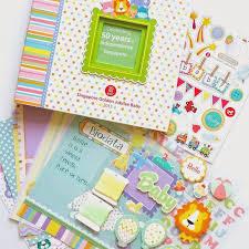baby scrapbook album growing with gabriel sg50 baby scrapbook album and multi photo frame