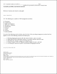 tests of controls reference question also found in study guide
