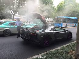 mansory aventador mansory lamborghini aventador spotted with white smoke in china