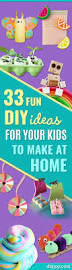 Things To Make At Home by 33 Fun Diy Ideas For Your Kids To Make At Home Diy Joy