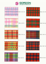 plaid ribbon high quality scotland plaid ribbon 3 8 warm color plaid ribbon