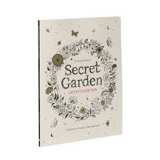 secret garden artist u0027s edition pull frame colouring