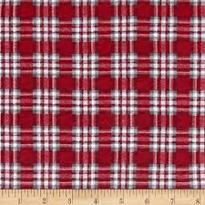 knit christmas cotton jersey knit christmas plaid discount designer fabric