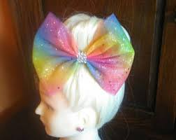 tulle hair bows tulle hair bows etsy
