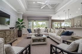 key west living room with blended furnishings key west 3 000 5 000 sq ft florida lifestyle homes