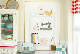 How To Make A Sewing Table by Sewing Room Themed Quilt Tutorial Let U0027s Make A Sewing Room