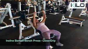 Bench Press Wide Or Narrow Grip Narrow Grip Bench Presses Part 37 Incline Barbell Bench Press