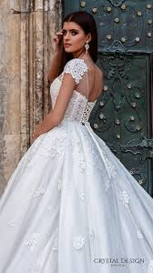 crystal design 2016 wedding dresses ball gowns bodice and