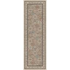 home decorators collection linden ivory 2 ft 6 in x 12 ft