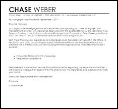 loan processor cover letter 28 images cover letter for