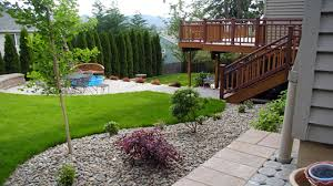Slope Landscaping Ideas For Backyards by Small Backyard Landscaping Ideas On A Jen Joes Design Image With