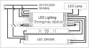 emergency test button for lighting kits non maintained wiring