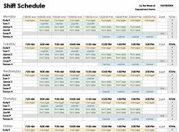 Ms Office Excel Templates Free Excel Employee Schedule Template Employee