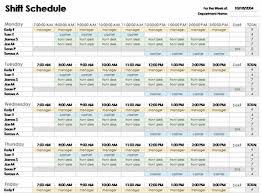 Excel Office Templates Excel Employee Schedule Template Employee