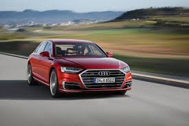 2018 audi a8 front right photos first pictures 2018 audi a8