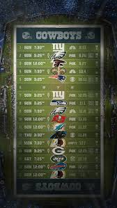 dallas cowboys schedule wallpaper free download wallpapers