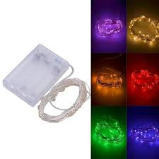 Battery Operated Outdoor Light - battery operated led fairy string lights led hula hoops by